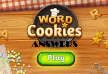 word cookies answers