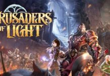crusaders of light gameplay